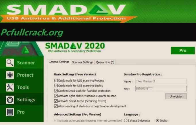 Smadav Cracked Serial Keygen