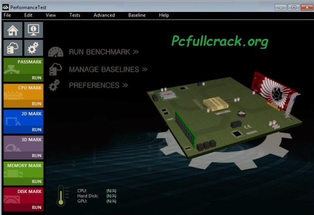 PassMark Performance Test Full Crack Download