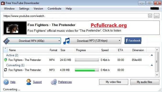 Free YouTube Download 4.3.48.517 Crack Full Version Free Download