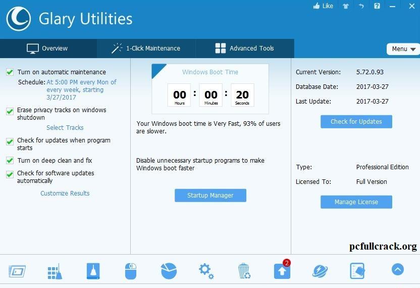 Glary Utilities Pro Crack + Serial Key {Latest Version}