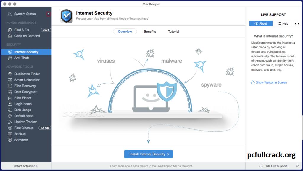 MacKeeper 5.5 Crack + Activation Code {100% Working} 2021