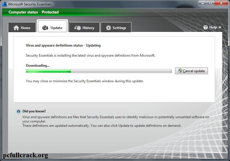Microsoft Security Essentials 2021 Crack Updated Version Download