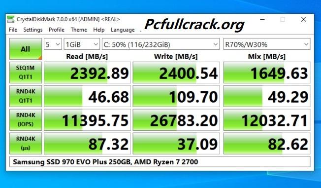 CrystalDiskMark Crack With License Number Download